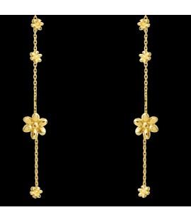 FLOWER Boucles d'Oreilles